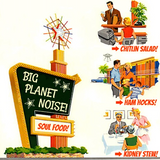 Big Planet Noise show #123 w/Bob Irwin & Gina Bacon: OUR GREASY THANKSGIVING SOUL FOOD SPECIAL!!!!!