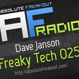 Dave Janson - Absolute Freakout: Freaky Tech 025