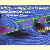 RobO's ATOMIX + June 3rd 2016 Axcit Web Radio Boogie Funk Edition
