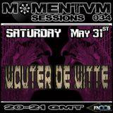 Momentvm Sessions 034 - Wouter de Witte - 2014-05-31