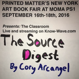 Printed Matter's NYABF Presents : The Source Digest - September 17th, 2016