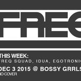IDUA-Live @ Freq Weekly Dance Party Columbus Ohio 12-03-2015