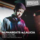 Alphabeats With Alicia W/ JLZ   14th November 2017