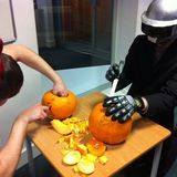 Spark Drive does Halloween: Dom is speechless, literally..
