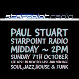 Paul Stuart Starpoint Radio - Sunday 7th October 2018