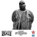 Flipout - Notorious BIG 20th Anniversary, 2017