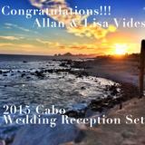 Allan & Lisa 2015 Cabo Wedding  Reception Set