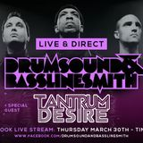 Drumsound & Bassline Smith - Live & Direct #31 Guest: Tantrum Desire