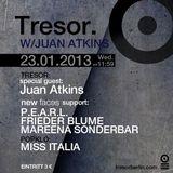 Frieder Blume @ BHC: New Faces - Tresor Berlin - 23.01.2013