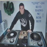 """Live"" on Rob Roy's KUCI Radio Show"
