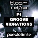 F1 (Camila Diaz & Rodrigo Vhans) Live at Bloom Pueblo Limite 18-10-2k14