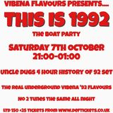 Uncle Dugs Vibena Flavours 'THIS IS 1992' promo mix