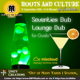 A loungy dub session inspired by Guido's Loungecafe here on Outta Mi Yard Radio