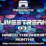 LIVESTREAM 042 MARCH THE ANDHRY'S MONTH