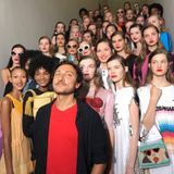 Protopapa for Marco De Vincenzo Milan Fashion Show SS 2018 _ Sept 2017