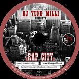 HIP HOP, R&B MIXTAPE -- RAP CITY -- DJ YUNG MILLI