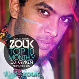 November 2014, Brazilian Zouk Top 10, Dj Kraken