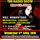 RW070 - THE JOHNNY NORMAL RADIO SHOW - 6TH APRIL 2016 - RADIO WARWICKSHIRE