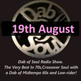 Dad of Soul Radio Show 19th August 2019 - With Studio Guest's Alex and William Anderton