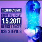 Tech House Mix from the finest 1.5.2017 Ulrike Langer B2B Stevie b