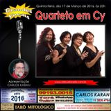 Programa Grandes Vocais 17/03/2016 - Quarteto em Cy