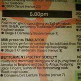 [1999] emulator - live @ the Birmingham Arts Festival, Chamberlain Sq. - 110999.