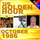 GOLDEN HOUR : OCTOBER 1986
