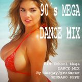 90's MEGA DANCE MIX (Old School)