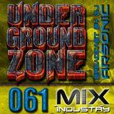 ► UNDERGRoUND ZoNE 61 [2000-2001] ► mix by ARSONIC