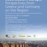 "#003 – ""INSIDE AND OUTSIDE SOUTHEASTERN EUROPE"" – Berlin, 20-21.01.2015: Conference Report"