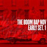 Live at THE BOOM BAP: Early Set Nov. Part 1