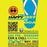 The Happy Feest Festival 2012@ Cafe La Musica