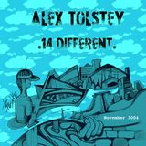 "Alex Tolstey ""14 Different"" mixtape November2004 techno"