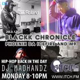 DJ Madhandz- Hiphopbackintheday Show 63 - Blackk Chronicle