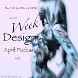 Week design // April 2013 //  Jay Peq & Angie Dibujos
