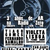 3 Anos de Arquitectura do Ruído na Rádio Zero - concertos