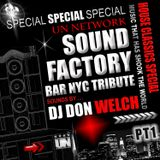 Special Tribute To Underground Network @ Sound Factory Bar Part 1 ★ DJ Don Welch ★•*¨*•♥♪•*¨*•*★