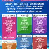 DJ Smurf @ Kiddstock Beach Festival. Redcar, England 6/8/2016
