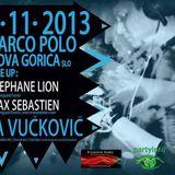 Tea Vuckovic B2B Aleksij - Live @ TYVH ( Marco Polo 2.11.13 )