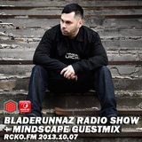 Mindscape guestmix @ Bladerunnaz Radio Show, Rcko.Fm 07.10.2013