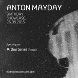 Arthur Sense - Anton Mayday's 33rd Anniversary Guest Mix [May 2015] on MidnightExpressFM.com