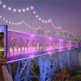 DAVE MOWAT- LIGHT THE BRIDGE CAMPAIGN 2013 (High Level-Edmonton)