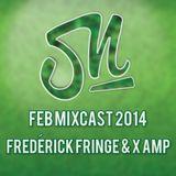 February podcast by Fredérick Fringe & X-Amp