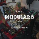 HATAKEN - Live at Modular 8 2nd set
