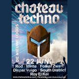 Invite @ Chateau Techno, Amsterdam (22-06-2013)