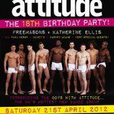 DJ Harvey Adam - Attitude 18th birthday mix 2012