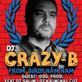 Dj Crazy B & Dj LBR 1 - Hip-Hop - Couleur 3