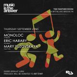 Eric Harary Live @The Panther Room Brooklyn, NY September 22nd 2016 w/Monoloc