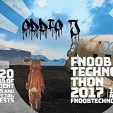 Oddio J - Fnoob 2017 Technothon April