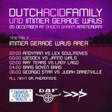 Georgio Star b2b Judah Darenville @ Dutch Acid Family, Immer Gerade Waus area (Closing set)